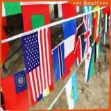 Горячие продажи 14*21см 100 стран String флаг