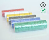 Nastro elettrico di isolamento del PVC di vendite di qualità calda di estensione con ignifugo per il servizio europeo (0.15mmx19mmx10m)