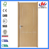 HDF에 의하여 주조되는 실내 프레임에 의하여 박판으로 만들어지는 베니어 PVC 문 (JHK-S01)