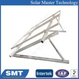 Nouveau design en alliage en aluminium anodisé 6063-T5 du système de montage solaire