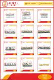 財布ワードブランドのアクセサリのための豪華な金属の文字のロゴのアルファベットの札