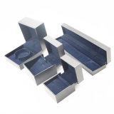 Rectángulo de papel del diseño del Leatherette plástico único del terciopelo (J112-E)