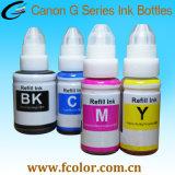 Gi490 remplir la bouteille d'encre Canon Pixma G1400 G2400 G3400 d'imprimantes