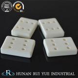 RoHS industriale ha certificato le parti di ceramica lavorate di ceramica dell'allumina dello stampaggio ad iniezione