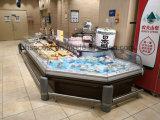 열려있는 샌드위치 가게 전시 냉장고, 슈퍼마켓을%s 수평한 에어 커튼 상인