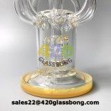 زجاجيّة [وتر بيب] [رسكلر] زجاجيّة أنابيب بيع بالجملة مع [2.5كم] قاعدة بلّوريّة [جلب-11]