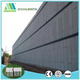 Painel de parede rápido do cimento da fibra do sanduíche da instalação para construções