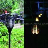 Lámpara de la luz de la antorcha de Víspera de Todos los Santos LED del camino del césped de la yarda del jardín de la energía solar