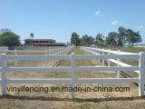 Высокая UV защищенная загородка PVC для загородки лошади рельса Fence/PVC Австралии Market/3