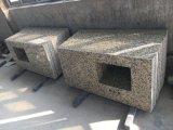 Losas de granito amarillo Rhrysanthemum&Mosaicos pisos de granito&Albañilería