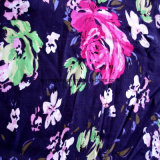 Tissu viscose ordinaire de haute qualité avec la mode pour les femmes d'impression numérique de l'écharpe