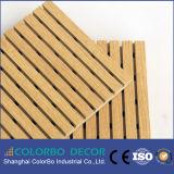 Écrans antibruits en bois perforés de fini de placage