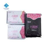 Tagesgebrauch-Mädchen-antibakterielles Baumwollanionen-gesundheitliche Serviette mit Flügeln