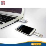 인조 인간 지능적인 전화를 위한 주문을 받아서 만들어진 Bussiness 선물 로고 마이크로 OTG USB 저속한 펜 드라이브