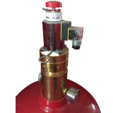 venta al por mayor del sistema del extintor de la red FM200 (HFC-227ea) del tubo 5.6MPa