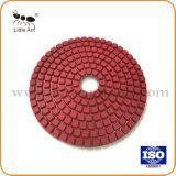 Goede Kwaliteit 4 de Flexibele Oppoetsende Hulpmiddelen van de Diamant '' voor Graniet