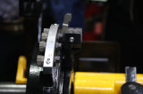 """la pipe 4 en acier de 1/2 """" - """" chassant la machine avec des HSS meurt (SQ100F-L)"""