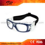 Fabrik Soem-Antikratzer-Shockproof Augen-schützender Sport-Basketball-tröpfelnde Fußball-Gläser