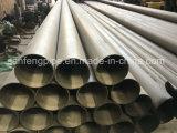 Tubo soldado del acero inoxidable de ASTM A249