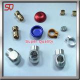 Часть алюминиевого Lathe высокого качества подвергая механической обработке, алюминиевая часть