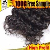 Couleur naturelle vierge brésilien Cheveux humains Extension non traités