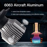 Degré d'éclairage automatique 360 4000lm 12 Volt V1 H4 H7 Lampe de projecteur à LED de voiture