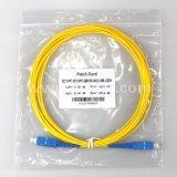 En50575 de Goedgekeurde Sc-Sc Enige Kabel van de Verbindingsdraad van de Wijze G652D DuplexFO