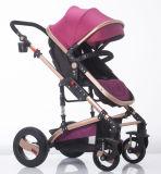 Neuer Entwurfs-europäischer Luxuxfalten-BabyPram mit Cer-Bescheinigung