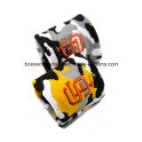 Sweatbands della manopola personalizzati prodotti dell'azzurro reale del tovagliolo del cotone del ricamo di marchio dell'OEM della fabbrica