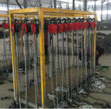 10 톤 건축을%s 휴대용 상승 공구 수동 사슬 게양 구획