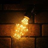 La decoración de un solo uso forma de gota de agua LED Bombilla LED
