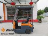 Novo veículo de reboque eléctrico ISO 9001 com 4 Ton Força de tracção