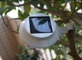 Weißes oder schwarzes Fance Solarwand-Rinne-Licht