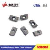 Girando CNC de carburo inserciones para estacas de acero