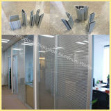 Factory Extruded Office Aluminium Partition Profile with Exsiting Molds
