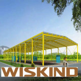 Structure en acier de construction de voiture économique hangar avec SGS ISO