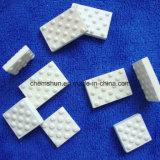 L'industrie de l'alumine à la traîne de tuiles de céramique avec résistance d'usure