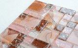 Py041 de promoción de la fabricación de baldosas de pared título mosaico de vidrio