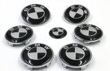 La pintura coche emblema de aluminio Tecla auto adhesivos para BMW