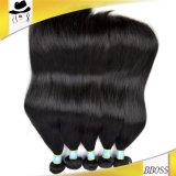 加工されていない毛、ブラジルの毛、人間の毛髪、バージンの毛