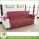 Slipcovers impressos de Loveseat do coxim da mobília sofá feito sob encomenda barato vermelho
