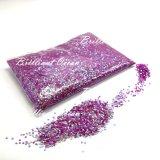 Purple Star cintilantes, Salão de Arte de unhas cintilantes peças de decoração Arte Unha