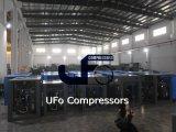 compresseur d'air à vis industriel lubrifié de 15kw 20HP avec le réservoir d'air