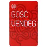 Cartão metálico do plástico do PVC da listra magnética da impressora do cartão do VIP da sociedade da impressão Offset de Cmyk