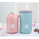 高品質のバレルは旅行装飾的な袋のナイロン洗浄袋の構成のオルガナイザーの記憶袋の高容量を形づけた
