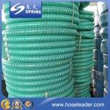 Boyau flexible jaune/bleu/rouge/de vert helice de l'eau de PVC d'aspiration