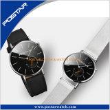 Het onverwachte Uiterst dunne Horloge van het Ontwerp van het Geval Caseback met de Norm Van uitstekende kwaliteit