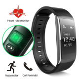 I6 Pro IP67 Tracker Fitness Moniteur de fréquence cardiaque Smart Watch Bracelet pour Android Ios