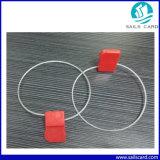 電力会社のためのUHFの機密保護の鋼線RFIDのシールの札