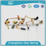 Suporte do gás do carro ajustável com mecanismo de liberação